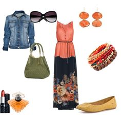 orange crush, created by kathyborie7 on Polyvore