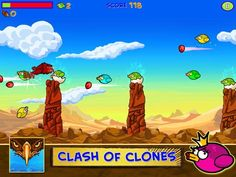 The Irony Is Strong With This One - Clash Of Clones - Free Hit Bird Clone Killing