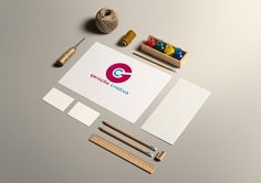 08 Stationery Craft Mockup Free Version