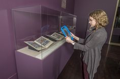 Augmented Reality ipad in The Crusader Bible: A Gothic Masterpiece | Blanton Museum of Art, Austin, TX| 2016