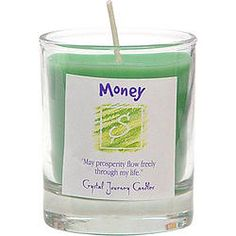 Soy Herbal Filled Votive Money