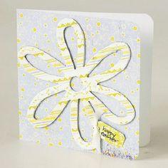Osterkarte Grüße Blume-Muster Bastelideen-2014