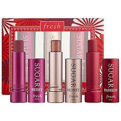 Fresh Sugar Kisses Mini Lip Trio : Shop Lip Balm & Treatments | Sephora