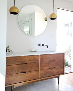 Bathroom Inspiration: The Do's and Don'ts of Modern Bathroom Design 28 Bathroom Renos, Laundry In Bathroom, Bathroom Interior, Ikea Bathroom Vanity, Bathroom Goals, Small Bathroom, Master Bathroom, Kohler Vanity, Bathroom Cost
