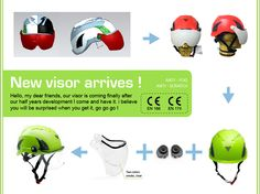 Hey there , our new Visor is coming , please contact us if it meet your interesting ! Come on  www.aurorasport.com You Get It, Meet You, How To Get, Safety Helmet, My Dear Friend, Bicycle Helmet, Believe, Feelings, News