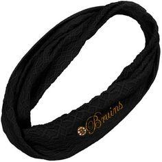 Reebok Boston Bruins Ladies Infinity Scarf - Black