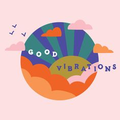 Surface Pattern, Surface Design, Happy Words, Happy Vibes, Kids Logo, Photo Wall Collage, Graphic Design Posters, Cute Quotes, Art Inspo