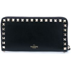 0a0cc3e609c4 Valentino Garavani  Rockstud  wallet (845 AUD) ❤ liked on Polyvore  featuring bags