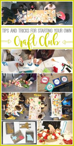 How to start a Craft Club from MichaelsMakers Sugarbee Crafts