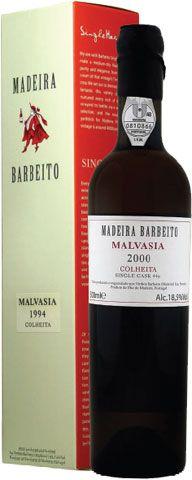 """Крепленое красное сладкое вино Madeira Barbeito. Malvasia \""""Colheita\"""" 2000 купить в интерне магазине WINECULTURE.RU"""