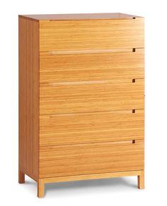 Greenington Modern Bamboo Orchid 5 Drawer Dresser