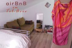 Edit Photos for 'Lovely room trendy southern TelAviv' - Airbnb - Get $25 credit with Airbnb if you sign up with this link http://www.airbnb.com/c/groberts22
