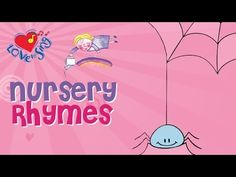Incy Wincy Spider Nursery Rhyme with Lyrics - Children Love to Sing Kids Songs - YouTube