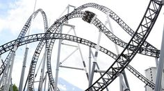 When people think of Japan, they usually think of sushi, girls in kimono, otaku types camping outside electronics stores, and maybe this guy. But did you know that Japan is home to some seriously intense roller coasters? Yup, there are more corkscrews, loops and positive Gs in Japan than you can shake a paper fan a ...