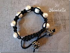 DIY Shamballa...there's a whole lotta Tutes on YouTube...but sometimes I want it written down...