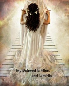 Bride of Christ dancing with Jesus, prophetic art. My Beloved is mine and I am His. Braut Christi, Image Jesus, Gods Princess, Bride Of Christ, Prophetic Art, Jesus Art, Lion Of Judah, Daughters Of The King, Jesus Pictures