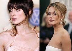 Doğal ve kusursuz bir makyaj, iki farklı saç rengi, iki farklı tarz... Sarışın mı, esmer mi? :)