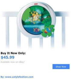 Crib Toys: Fisher Price Rainforest Peek-A-Boo Waterfall Soother BUY IT NOW ONLY: $45.99 #ustylefashionCribToys OR #ustylefashion