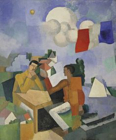 MoMA | The Collection | Roger de La Fresnaye. The Conquest of the Air. 1913