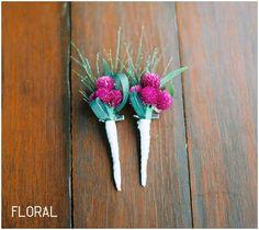 Wedding High: 16 Buttonholes to inspire you!