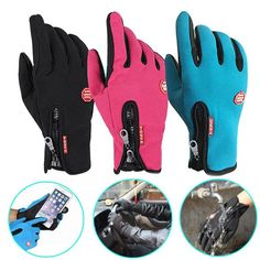 3,22 EUR, inkl. Versand: Cycling Gloves Winter Motorcycle Men Women Ski sports Waterproof Touch Screen head snowboard Snow kids skiing Driving leather -in Cycling Gloves from Sports & Entertainment on Aliexpress.com | Alibaba Group