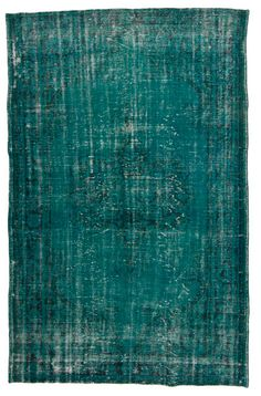 overdyed vintage rug by Loom