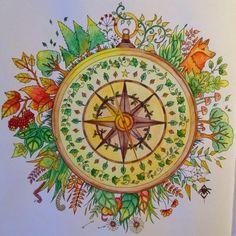 DIY Decoração  livro técnica de pintura - Jardim Secreto - Secret Garden