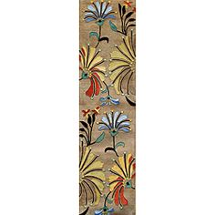 @Overstock - Primary materials: Wool  Pile height: 0.70 inches  Style: Transitional  Primary color: Beigehttp://www.overstock.com/Home-Garden/Hand-tufted-Eastern-Colors-Beige-Wool-Runner-Rug-2-x-8/6159438/product.html?CID=214117 $102.99