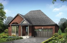 A Mason Homes master-planned community Parklands offers a combination of small-town charm with nearby city amenities. #adultlifestylecommunitiespeterborough #bungalowspeterborough #condovillaspeterborough Mason Homes, Lakeside Village, Courtyard Design, Storey Homes, New Home Builders, Peterborough, New Home Designs, Master Plan, City Living