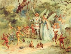 The Arrival of the King & Queen of Fairies