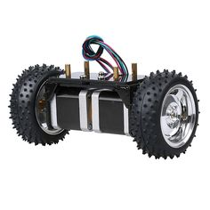 Ball Balance Robot Kit Chassis Kit Robotic DIY Kit Aluminum Alloy 42 Step Motors