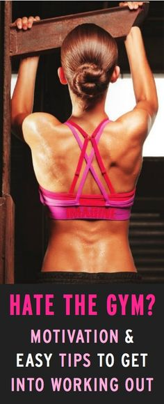Awesome, easy ways to get motivated to work out...and actually do it!