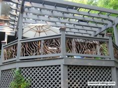 deck railing | Deck Railings | Wood, Glass, Wrought Iron, Cable Rails