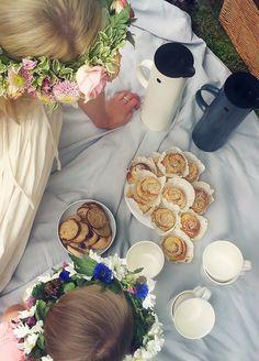 Lovely summer picnic! | via Trendenser.se