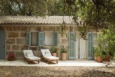 Die Terrasse einer Suite im Predi Son Jaumell | Capdeperra | Mallorca