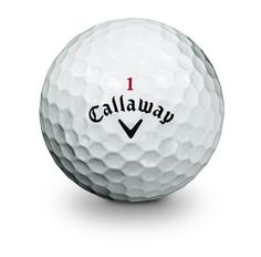 awesome Callaway Hex Chrome Golf Ball (12 Pack)