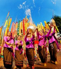Happy Songkran Day Thailand! We love this festival - celebrate your own version in the US by throwing water! #thailand #songkran #travel