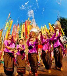 Songkran Festival • ° ˛˚˛ *•。★˚ ˚