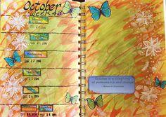Week 43 Planner pages.