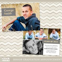 graduation announcements templates free download Google Search