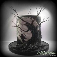 Headless Horseman Cake