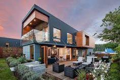 Resultado de imagen para diseños de casas modernas doble altura