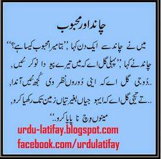 Urdu Latifay: Chand aur Mehboob Jokes in Urdu Font 2014, Punjabi...