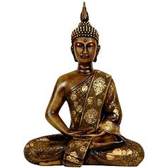 @Overstock - Crafted of high-quality, heavy resin, this sitting Sakyamuni Buddha is in the classic Thai design. This statue of Buddha features a beautiful wood grain finish in a honey-colored cast resin.http://www.overstock.com/Worldstock-Fair-Trade/Thai-Sitting-11.5-inch-Buddha-Statue-China/5079595/product.html?CID=214117