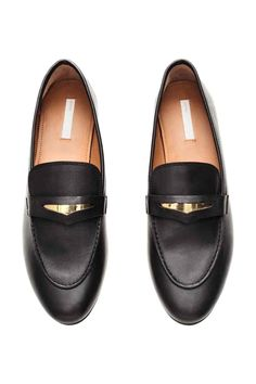 Leather loafers | H&M