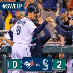 Kendrys goes deep, #Mariners blank the #BlueJays to complete the sweep. 8/13/14