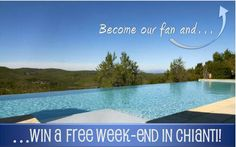 Find out how to win a free weekend in Chianti at Borgo di Pietrafitta