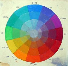 "James Gurney, a painter and illustrator, has invented a system using a tonal color wheel with ""masks"" or templates that help the artist define a harmonious color scheme."