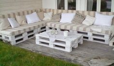 Old Pallets Into Beautiful Outdoor Furniture