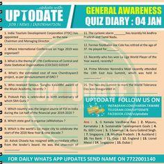 General Awareness #Quizdiary : 04 Jan Joe Cole, Tourism Development
